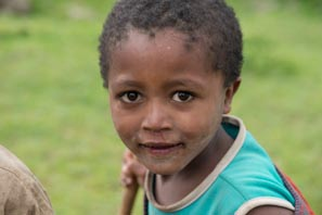 Another thoughtful face from Ethiopia
